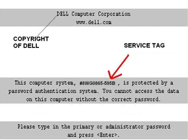 reset Dell Latitude D Series password