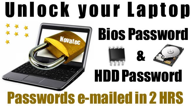 unlock dell mini e4200 Laptop bios password
